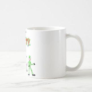 Santa's Elves Elf Party Design Coffee Mug