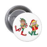 Santa's Elves Pinback Button
