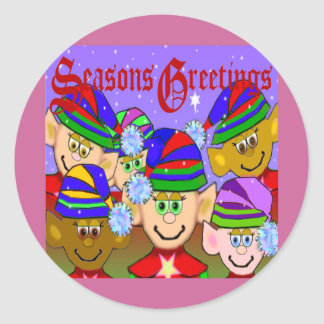 Santas' Elves Sticker
