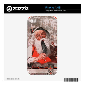 Santa's Expenses Decals For The iPhone 4