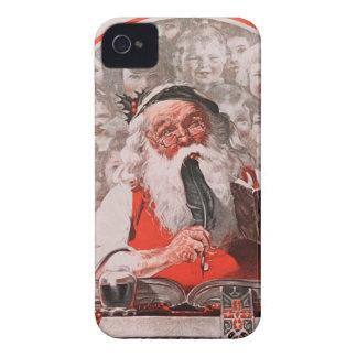 Santa's Expenses iPhone 4 Case