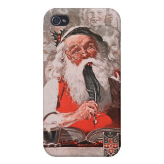 Santa's Expenses iPhone 4 Cover