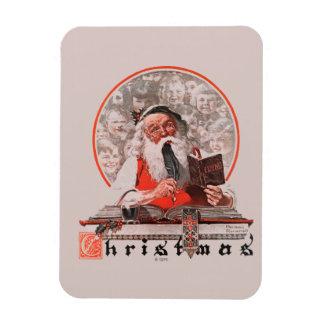 Santa's Expenses Magnet