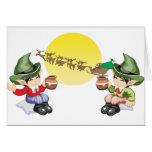 Santa's Farewell Cards