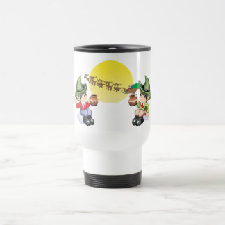 Santa's Farewell Coffee Mugs