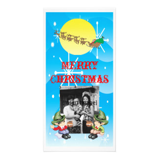 Santa's Farewell Photo Card
