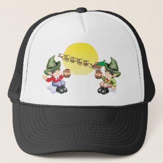 Santa's Farewell Trucker Hat