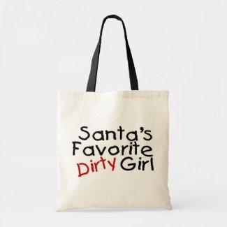 Santas Favorite Dirty Girl Bags