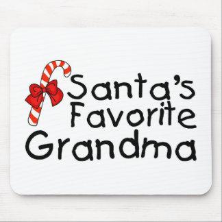 Santas Favorite Grandma 2 Mouse Pads