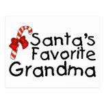 Santas Favorite Grandma 2 Post Cards