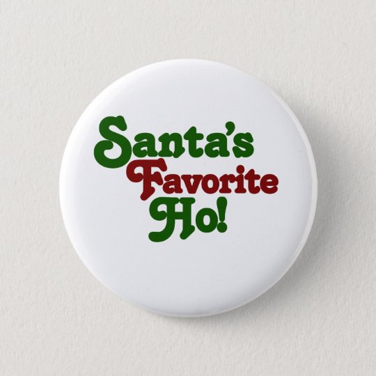 Santas favorite ho button