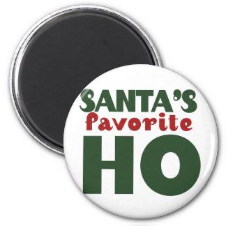 Santas Favorite HO Fridge Magnets