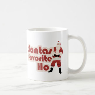 Santas Favorite Ho Funny Christmas Coffee Mug