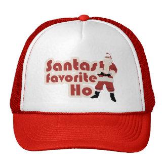 Santas Favorite Ho Funny Christmas Trucker Hat