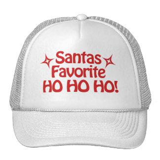 Santas Favorite HO Hat
