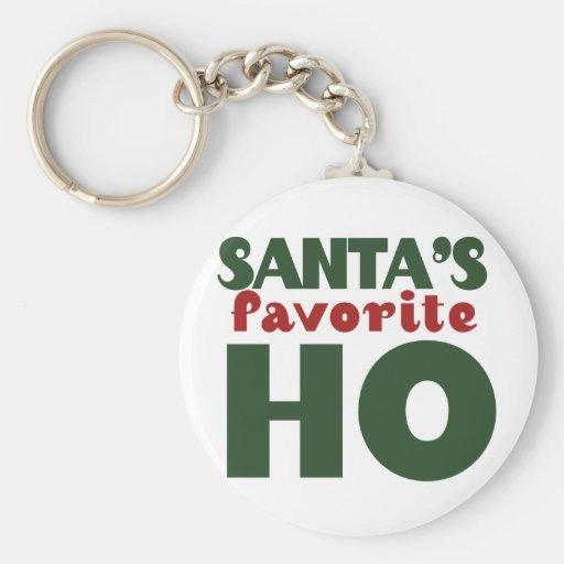 Santas Favorite HO Key Chains