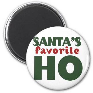 Santas Favorite HO 2 Inch Round Magnet