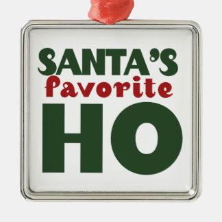 Santas Favorite HO Ornament