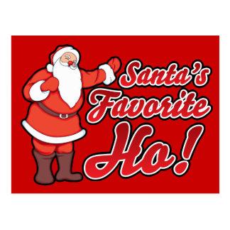 Santas Favorite HO Postcard