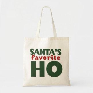 Santas Favorite HO Tote Bag