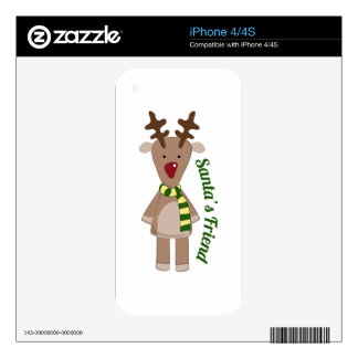 Santas Friend Skins For The iPhone 4