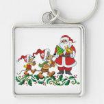 Santas Gift Keychain