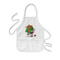 Santas Gift of Love Apron for Kids