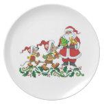 Santa's Gift Plate