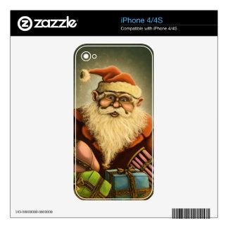 santas gifts holiday iPhone skin
