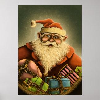 santa's gifts poster