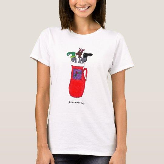 Santa's Golf Bag T-Shirt