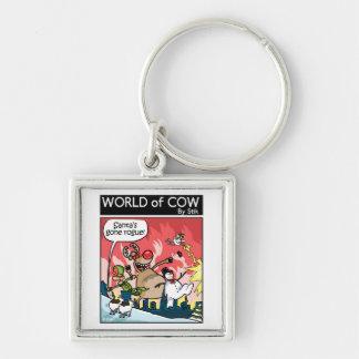 Santa's GONE ROGUE! Keychain
