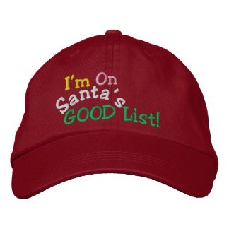 SANTA's GOOD List ... ; ) Cap by SRF Embroidered Hats