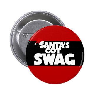 Santa's got SWAG Pinback Button