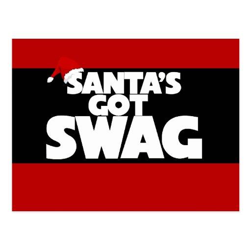 Santa's got SWAG Postcard