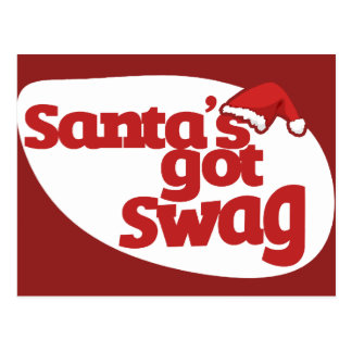 Santas Got SWAG Postcard