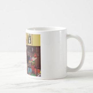 Santa's GreatPyrenees Mugs