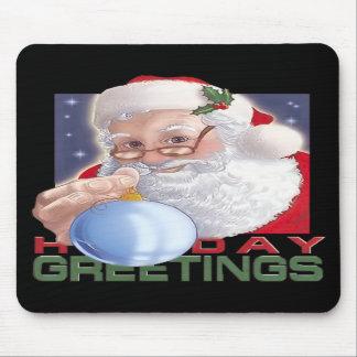 Santa's Greetings - Mousepad