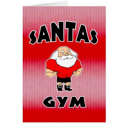 Santas Gym Card