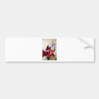 Santas Hands Bumper Sticker