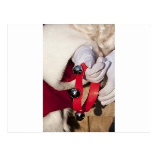 Santas Hands Postcard