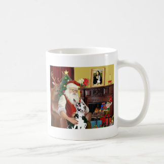 Santa's Harlequin Great Dane Mug