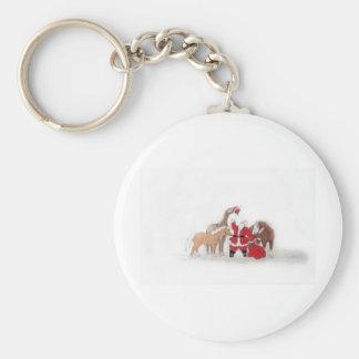 Santa's Hassle Keychain
