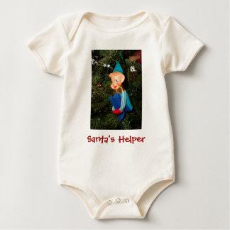 Santa's Helper Baby Bodysuit