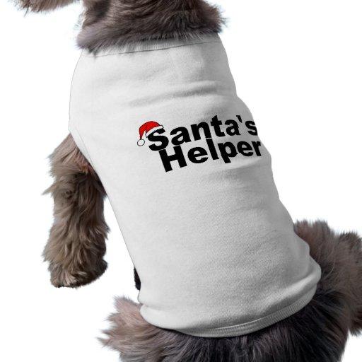 Santas Helper Black Dog Clothes