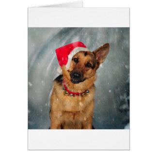 Santas helper card