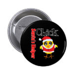 Santa's Helper Chick Pins