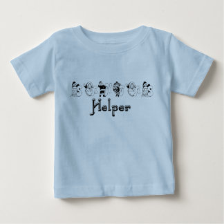 Santa's Helper Christmas Infant Tee Shirt