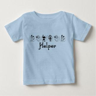 Santa's Helper Christmas Infant Tee Shirt
