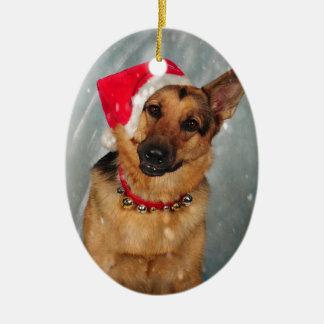 Santas helper christmas ornament